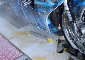 روش شستن موتور سیکلت